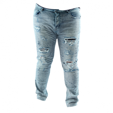 Jean Arpy denim Wash : Acid blue