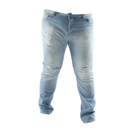 Jean Arpy denim // Wash : Ripped blue